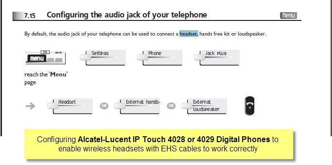 Alcatel APA-23 Plantronics Electronic Hook Switch Adaptor