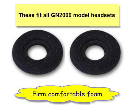 GN2000 Foam Ear Cushions
