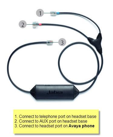 Avaya 14201-33 EHS Jabra Link Cable