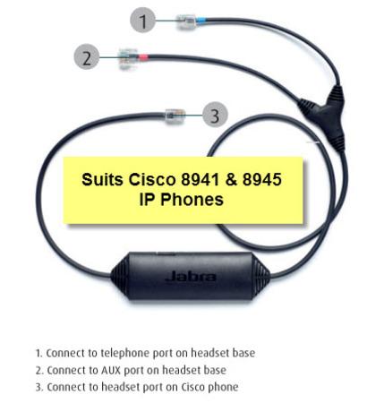 Cisco 14201-41 EHS Jabra Link Cable