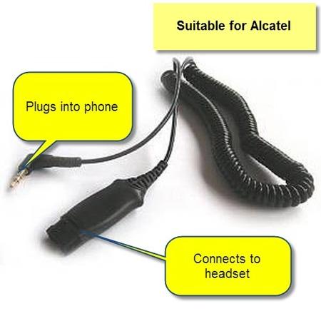 Plantronics 38324-91 Alcatel Cable