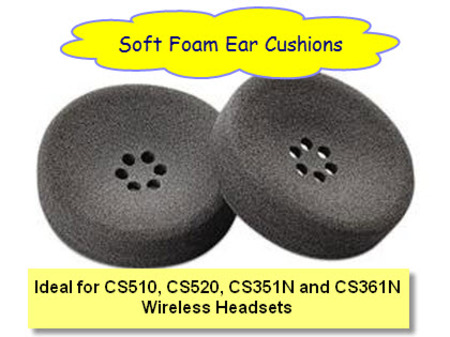 Plantronics Wireless Headset Foam Ear Cushions