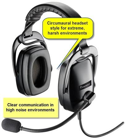 Plantronics SHR2083-01 Ruggedized Headset