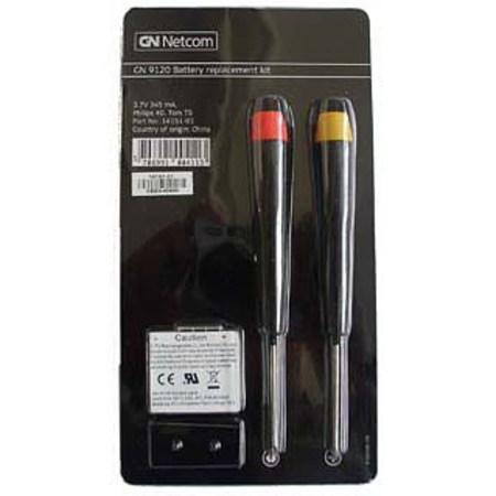 GN Netcom Jabra GN9120 Replacement Battery Kit