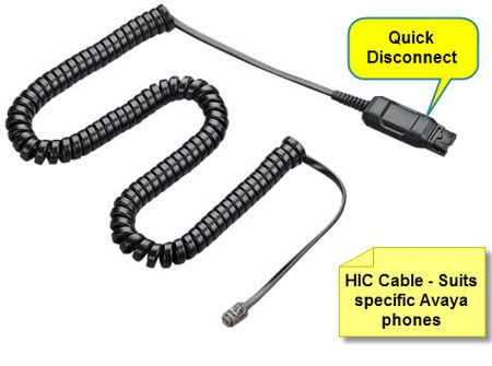 HIC-1 Cable for Avaya
