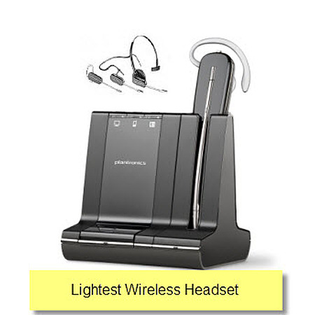 Plantronics SAVI W740-M Lync Wireless Headset