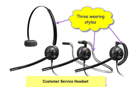 Plantronics EncorePro HW540 Call Centre Headset