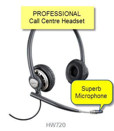 Plantronics HW720 Professional Headset