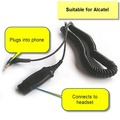 Plantronics 38324-91 Alcatel Cable