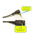 Plantronics 43038-01 Vista Cable to 2.5mm plug