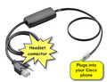 Cisco APC-82 EHS Cable for Plantronics