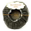 1000 Large Disposable BLACK Headphone Covers