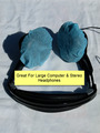 1000 Large Disposable Medical Blue Headset Covers