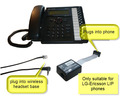 LIP-EHS for LG-Ericsson LIP Phones