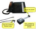 LIP-EHS for LG-Ericsson LIP Phones