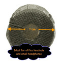 1000 Small Disposable Black Headset Covers