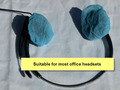 1000 Small Disposable Medical Blue Headset Covers